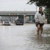 Überflutungen und Chaos in Texas