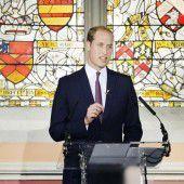 Prinz William fordert von Chinesen Boykott von Elfenbein-Handel