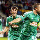 Hofmann führt Rapid Wien zum 1:0-Sieg über Minsk