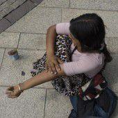Bettler verdienen eine Behandlung mit Würde