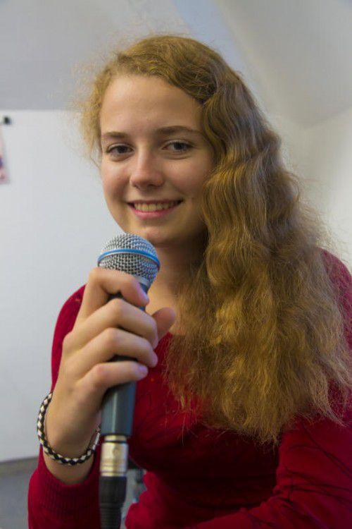 Die Bregenzerin Nora Dehmke geht mit der Big Band Langenargen auf Deutschland-Tournee.
