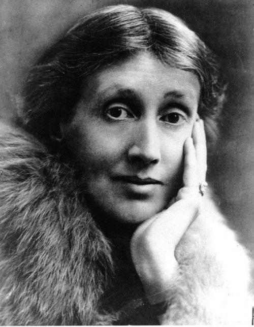 Die britische Schriftstellerin Virginia Woolf (1882–1941).