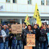 Kurdendemo auch in Bregenz