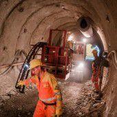 Heuer 70 Millionen Euro im Arlbergtunnel verbaut