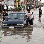 Starke Unwetter sorgen für Chaos in Bagdad