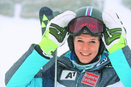 Elisabeth Kappaurer ist die Vorarlberger Hoffnung beim Damen-Weltcup-Riesentorlauf in Sölden.