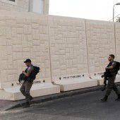 Israel baut Schutzmauer
