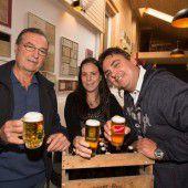 Ein Bier und viele Geschichten