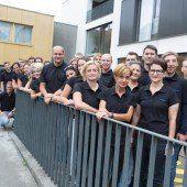 41 Mitarbeiter kümmern sich um Vorarlbergs Spitzensportler