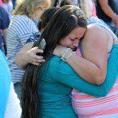 Trauer nach Bluttat an US-College