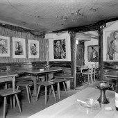 Die Galerie Lisi Hämmerle erinnert nicht nur an ein uriges Lokal, sondern an einen Künstlertreff
