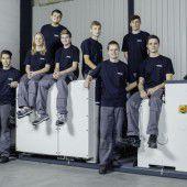 Neue Lehrlinge bei Forstner Maschinenbau