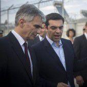EU-Länder helfen Tsipras bei der Flüchtlingskrise