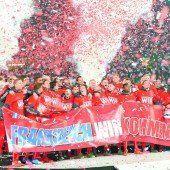 ÖFB-Team feierte EM-Party mit 3:0-Sieg über Liechtenstein