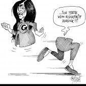 Wiener Dame ohne Unterleib!