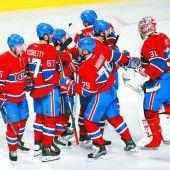 Sieg sechs von Montreal