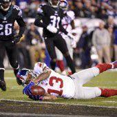 Eagles entzauberten Giants