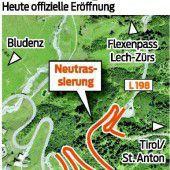 Arlberg nun mit neuer Zufahrt
