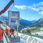 Die 9,2 Millionen Euro teure Arlberg-Zufahrt wird eröffnet