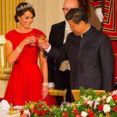 Kate erntet Lob für Kleid und Diadem