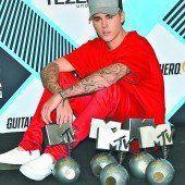 Justin Bieber räumte fünf Preise ab