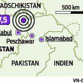 Heftiges Erdbeben erschüttert Hindukusch