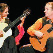 Die Gitarre im Mittelpunkt