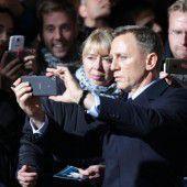Daniel Craig bei Bondpremiere in Berlin
