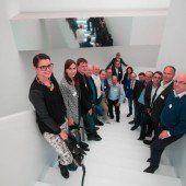 Zumtobel-Group fungierte als Gastgeber für Topmanagement von Russmedia