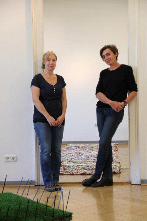 Franziska Stiegholzer und May-Britt Nyberg Chromy.
