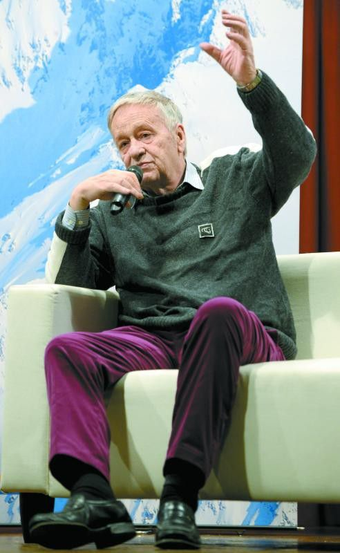 Gian-Franco Kasper kämpft um die Olympia-Abfahrt.