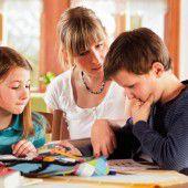 Bei schlechten Noten helfen gute Eltern