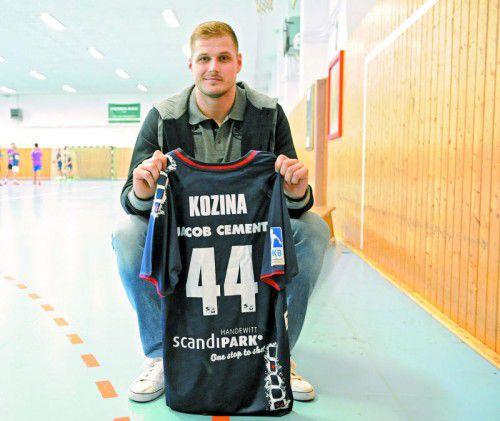 Heute absolviert Kresimir Kozina seinen ersten Einsatz im Trikot der SG Flensburg-Handewitt im Heimspiel gegen Lemgo.