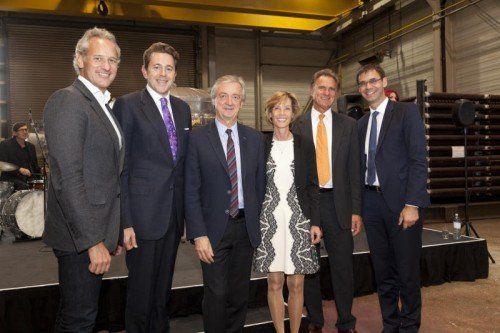 Hochkarätige Gratulanten fanden sich bei der Feier anlässlich des 90. Firmenjubiläums der Firma Bertsch ein.