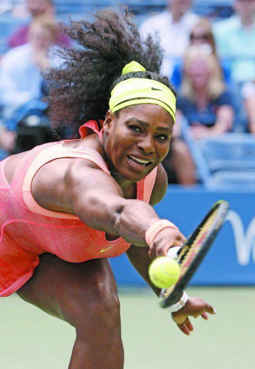 Im Jänner zurück auf dem Court: Serena Williams.