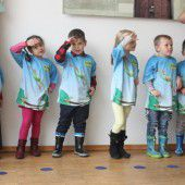 Kinder in Gais in Bewegung