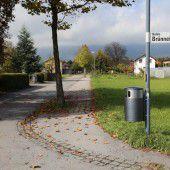 Beliebte Gassi-Wege brauchen Müllkübel
