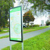 Übersichtliche Radwege sind das Ziel
