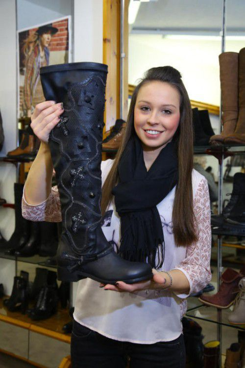 Jaqueline Rauter ist eine Verkäuferin mit Engagement und Freude.