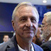 Cruyff leidet an Lungenkrebs