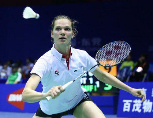Lisi Baldauf gewann in der Quali fünf ihrer sechs Partien. Verband