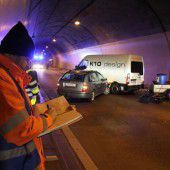 Feldkirch: Ernstfall im Tunnel erfolgreich geübt