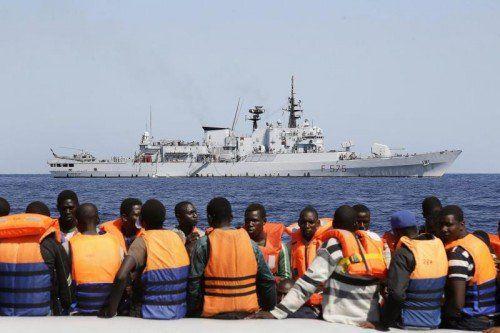 Ab Herbst ist auch das Jagdkommando des österreichischen Bundesheeres am EU-Einsatz im Mittelmeer (Eunavfor Med) beteiligt.  Foto: epa