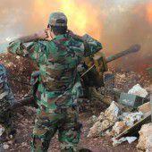Syrische Armee startet ihre dritte Offensive