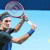 Kurzarbeit für Roger Federer