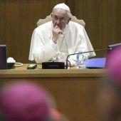 Papst wurde gehört