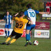 Fußball, Vorarlbergs Ligen im Überblick – Vorarlbergliga bis 5. Landesklasse (11. Spieltag)