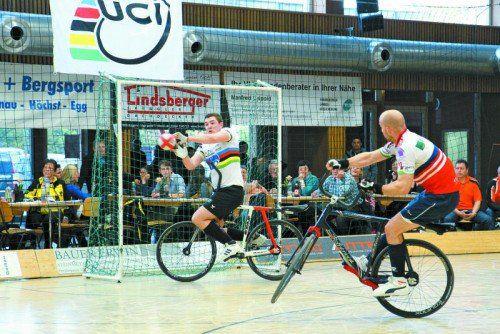 Patrick Schnetzer und Markus Bröll feierten ihren ersten gemeinsamen Sieg beim Heimweltcup.