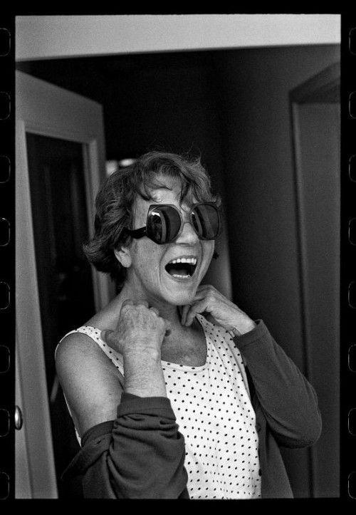Porträt der Malerin Maria Lassnig.