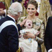 Prinz Nicolas schrie bei Taufe aus Leibeskräften